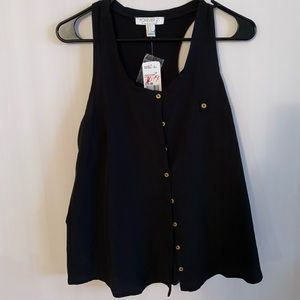 Button Up Tank Top (NWT)